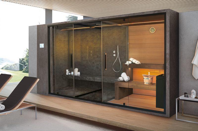 Collezione EthosG Saunavita di Hafro Geromin