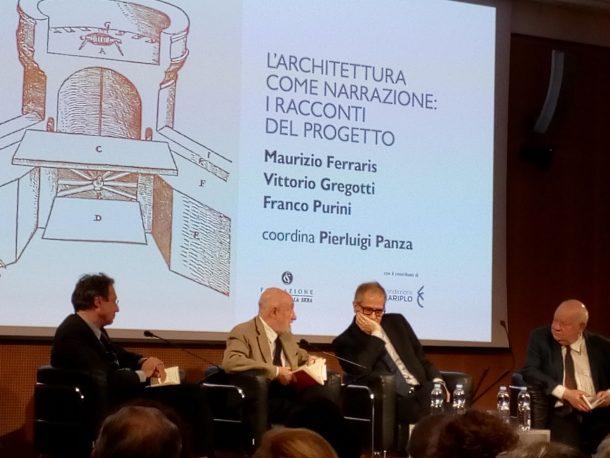 I racconti del progetto di Vittorio Gregotti