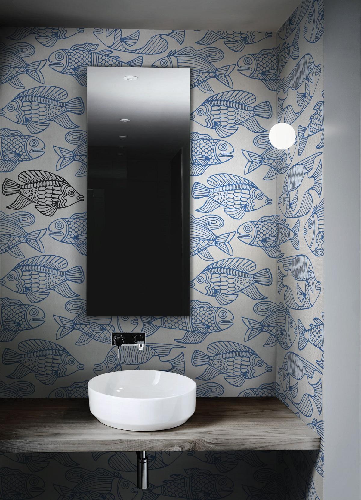 Carte da parati per il bagno tutte le novit 2018 19 for Carta da parati lavabile per bagno