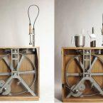 Il robot da cucina a pedali di Studio Montag