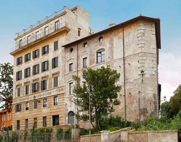 Palazzo Rhinoceros di Fendi by Jean Nouvel