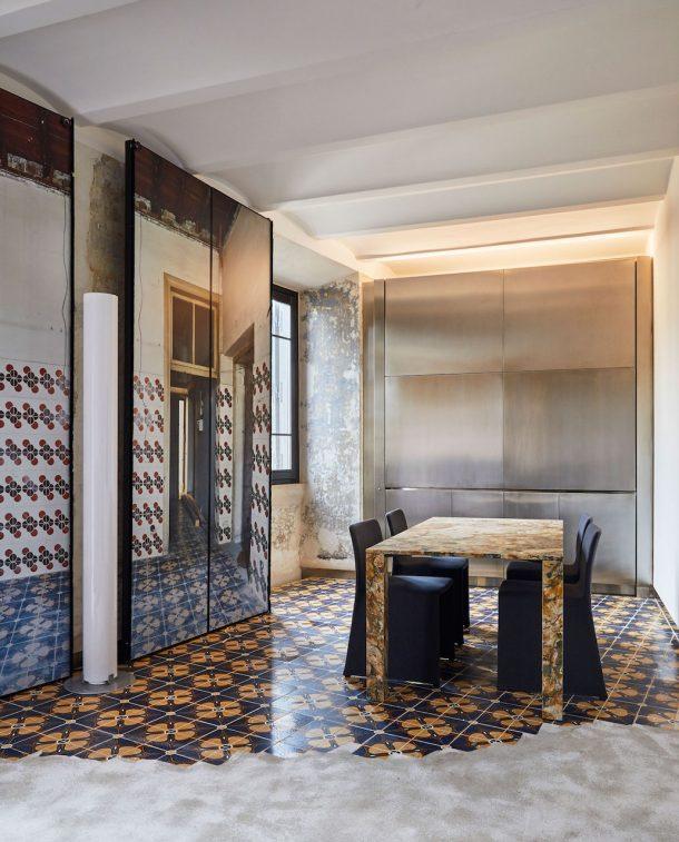 Rooms Of Rome: Palazzo Rhinoceros di Fendi by Jean Nouvel