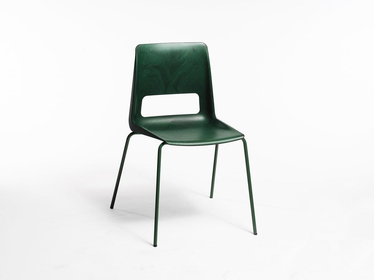 Filo Di Plastica Per Sedie.La Sedia In Plastica Riciclata Di Snohetta Design Street
