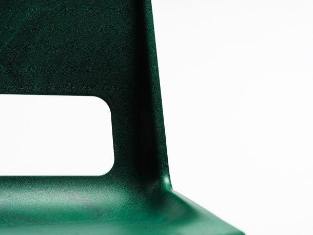 sedia in plastica riciclata Snøhetta