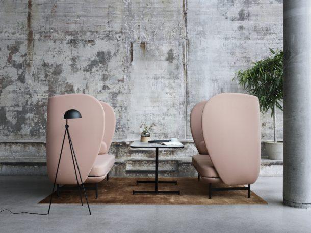 divani di design per lavoratori nomadi