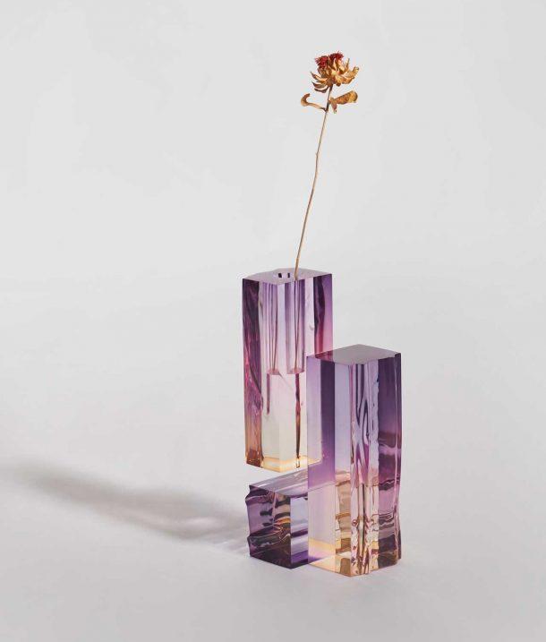 vasi di design in vetro