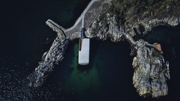 Under, il primo ristorante sottomarino in Europa