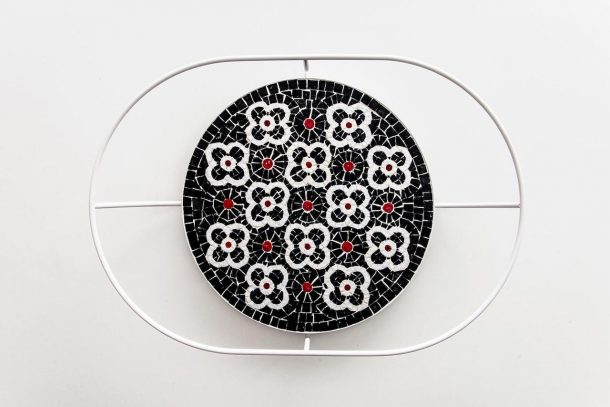 vassoi in mosaico