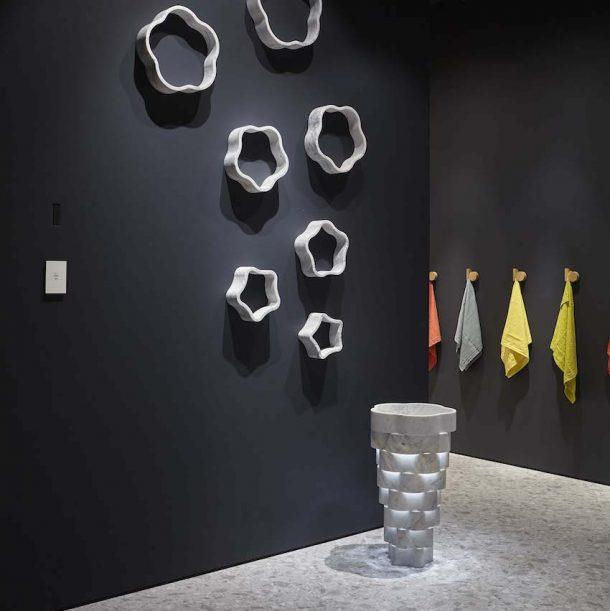 lavabo Intreccio di Paolo Ulian per antoniolupi