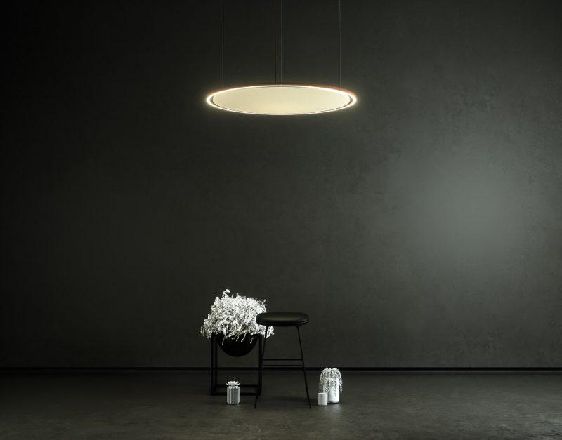 lampade fonoassorbenti di design