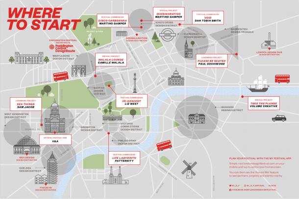 I distretti del London Design Festival