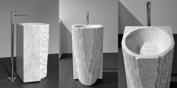 Il lavabo Controverso di Paolo Ulian per antoniolupi