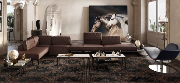 Natuzzi: Apulian Dandy Collection di Marcel Waanders