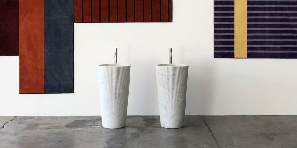 Il lavabo Plissé di Paolo Ulian per antoniolupi