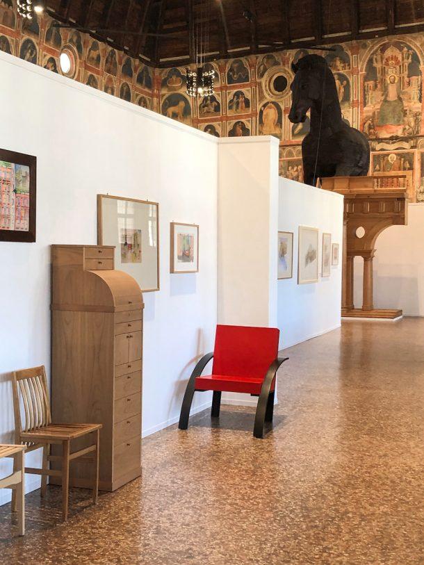 MLa mostra di Aldo Rossi a Padova