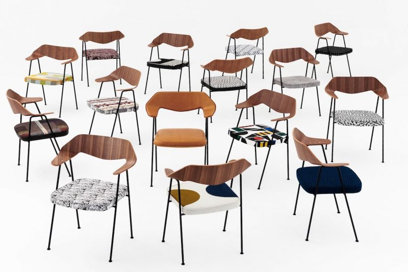 La 675 chair di Robin Day