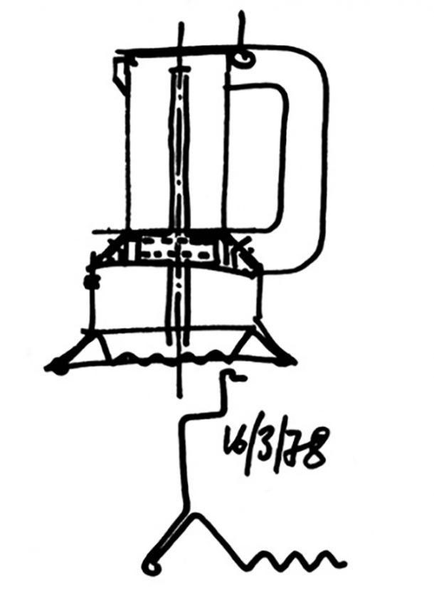La caffettiera 9090 di Richard Sapper per Alessi