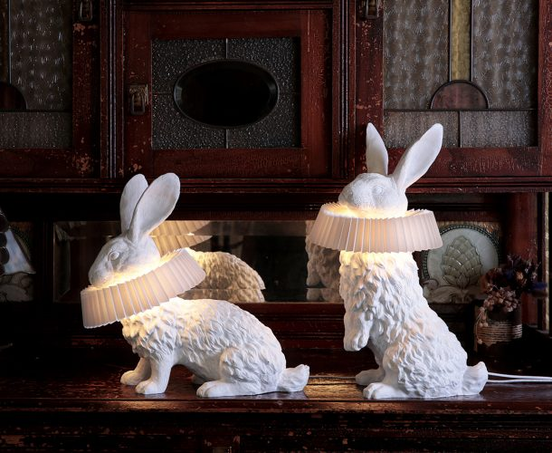 La Rabbit Lamp di Haoshi
