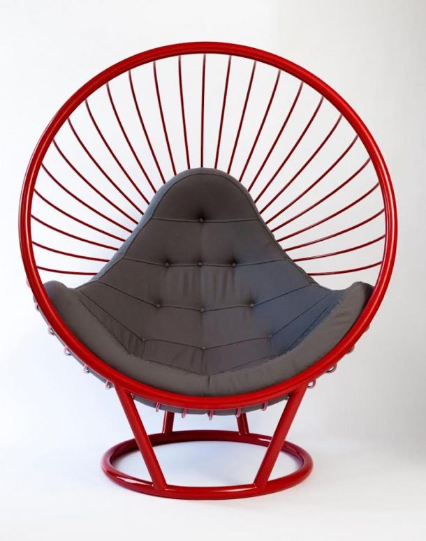 La bubble chair di Ben Rousseau