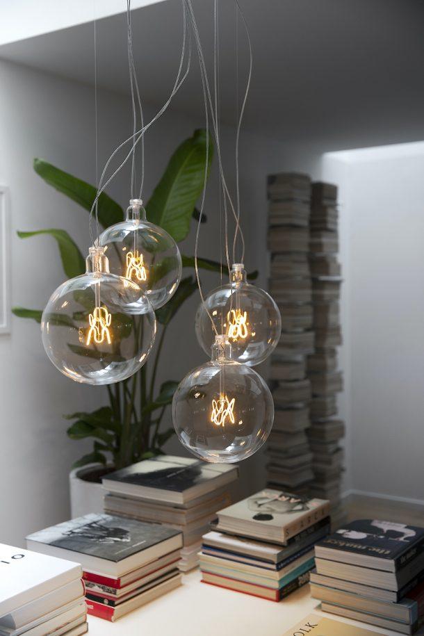 Lampada Bulbo di Flos. Design Achille e Piergiacomo Castiglioni