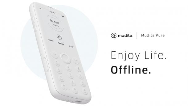 "Il cellulare ""offline"" Mudita Pure"