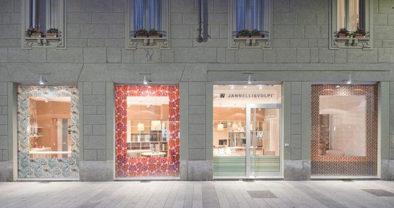 JV Store. Lo showroom milanese di Jannelli&Volpi