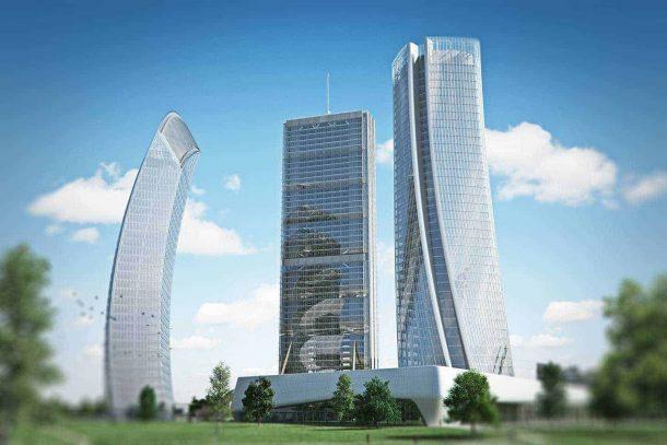 Torre generali a Citylife