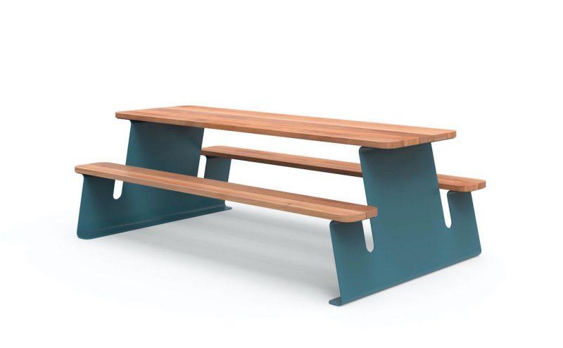 tavolo da picnic Wave di Meneghello-Paolelli Associati per City Design