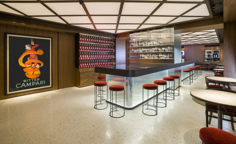 Il bar Camparino in Galleria a Milano