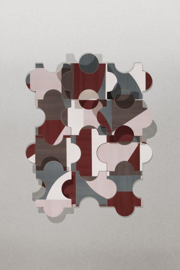 Piastrella Triennale di Gio Ponti per Marazzi del 1960