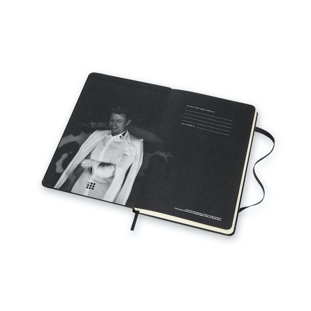Il taccuino Moleskine in limited edition di David Bowie