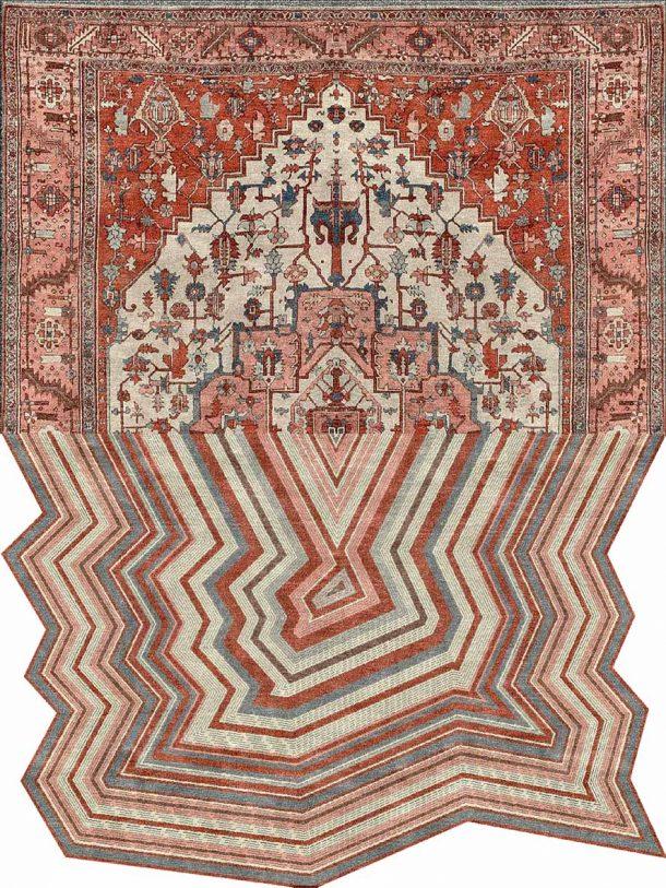 tappeti dalle forme irregolari