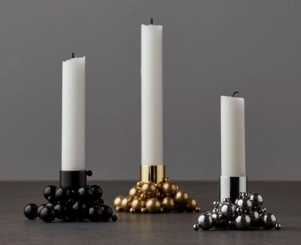 porta candele di design