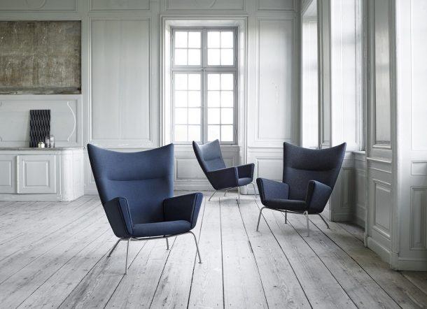 poltrone iconiche design scandinavo