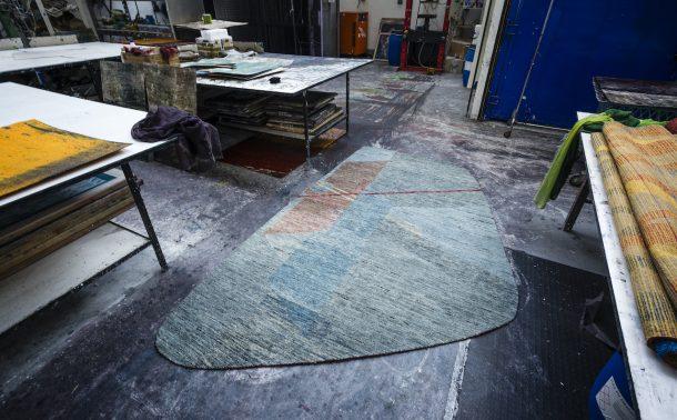 tappeti irregolari di Battilossi