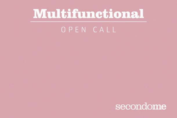Concorsi di Design: multifuctional open Call di Secondome