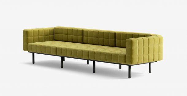 Divano Voxel sofa dello studio BIG