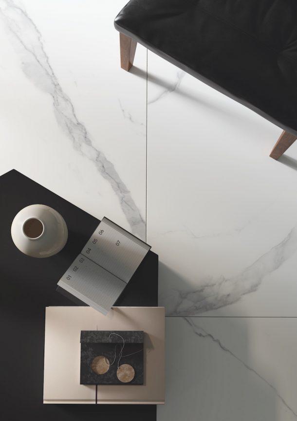 gres porcellanato effetto marmo di Casalgrande Padana
