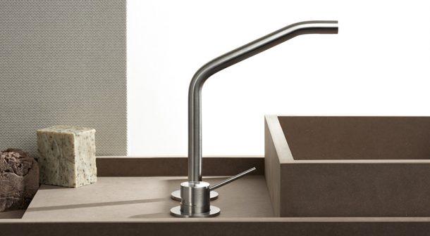 rubinetti acciaio inox