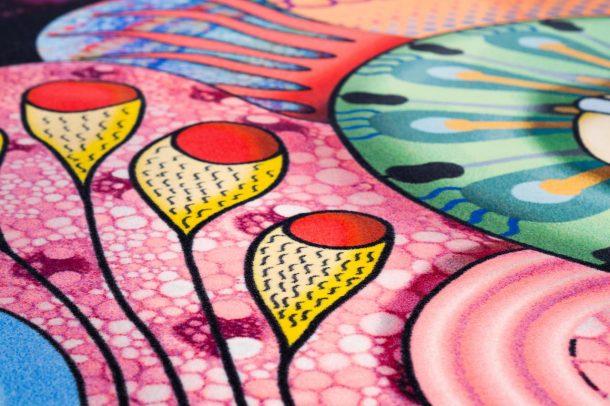 Space Escape di Elena Salmistraro per Mooi Carpet
