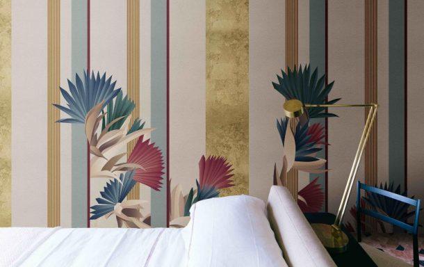 rivestimenti murali Misha, design Cristina Celestino