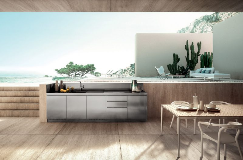 cucine outdoor di design