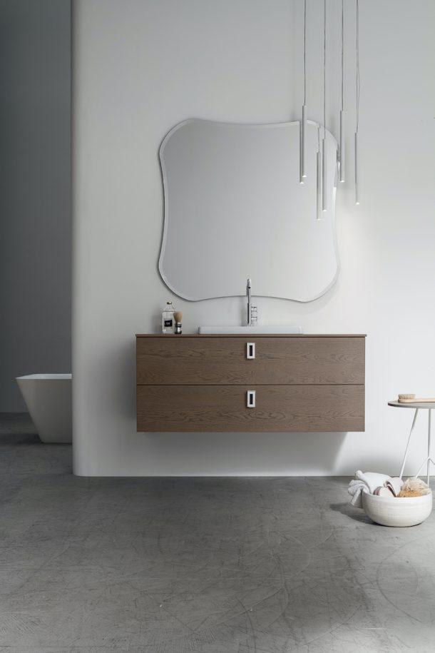 Sistema arredo bagno Pollock di Arcom