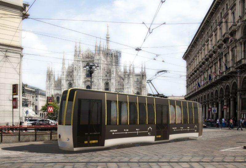 Passerella, concept tram Arturo Tedeschi