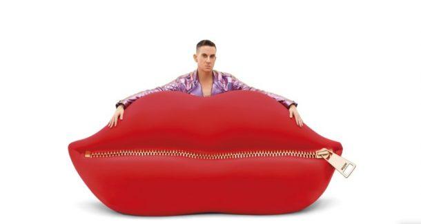 Il divano Bocca di Gufram