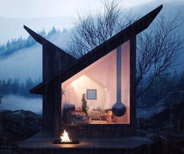 Moduli abitativi nomadi e micro architetture di design