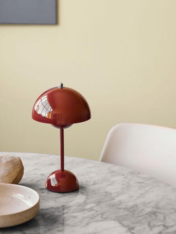lampada Flowerpot Verner Panton