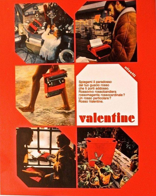 Valentine di Ettore Sottsass