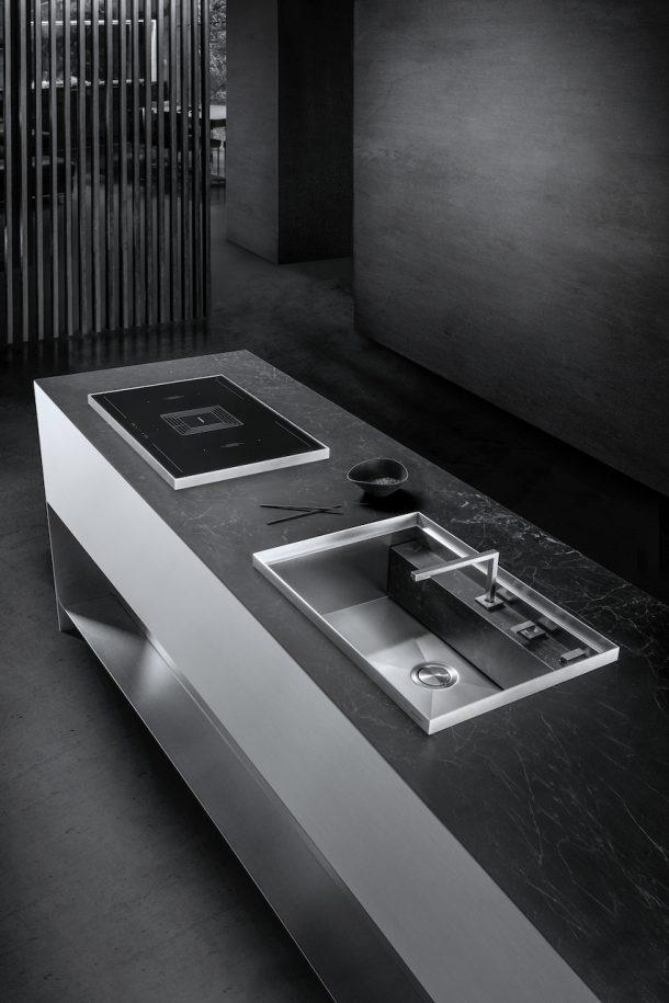 Mizu e Kasai i nuovi lavelli e piani cottura di Barazza.