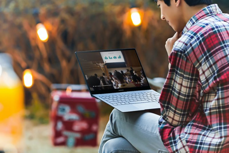 Il laptop Samsung Galaxy Book S